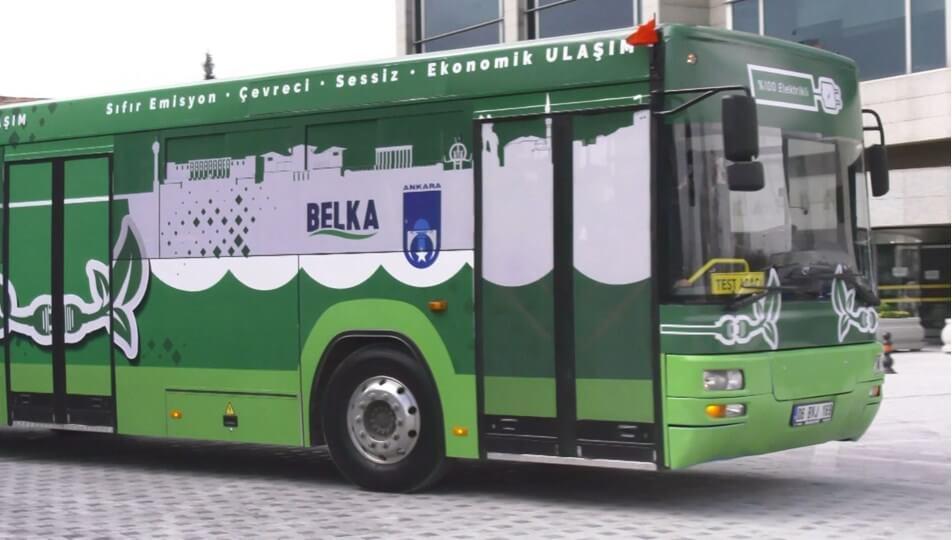 Ankara Elektrikli Otobüs BELKA